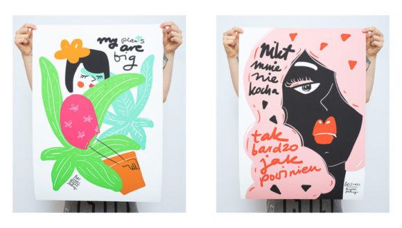 Plakat, Magda Danaj